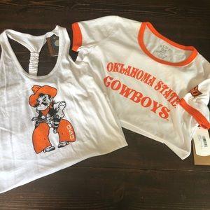 NWT Oklahoma State Cowboys T-shirt Bundle